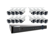 Lorex ECO6 16-Channel DVR with 2TB HDD and 16 Day/Night 900 TVL Cameras