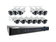 Lorex ECO6 24-Channel DVR with 3TB HDD and Twelve 900TVL Cameras