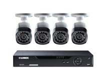 Lorex LHV10082TC4 Stratus Cloud 8-Channel DVR with 2TB HDD and Four Cameras