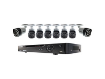 Lorex 8-Channel 2TB DVR with 8x 720p Cameras