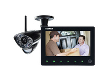 Lorex One-Camera Surveillance System with 2-Way Audio via iOS or Android Apps
