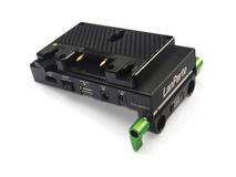 Lanparte ABP-01 Anton Bauer Gold-Mount Battery Pinch with HDMI Splitter