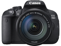 Canon EOS 700D DSLR Camera with 18-135mm Lens