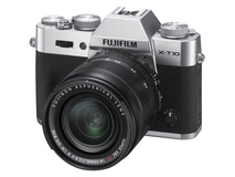 Fujifilm X-T10 Mirrorless Digital Camera with 18-55mm Lens (Silver)