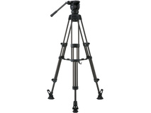 Libec LX7 M Tripod With Pan and Tilt Fluid Head and Mid-Level Spreader