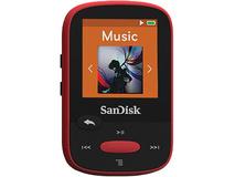 SanDisk 4GB Clip Sport MP3 Player (Red)
