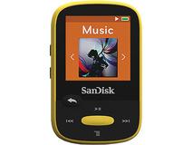 SanDisk 4GB Clip Sport MP3 Player (Yellow)
