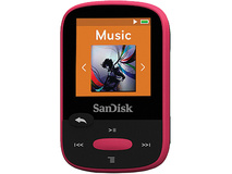 SanDisk 8GB Clip Sport MP3 Player (Pink)