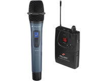 Polsen ULW-16-HL 16 Channel Camera-Mount UHF Handheld Wireless System