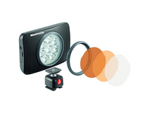 Manfrotto Lumie Muse On-Camera LED Light (Black)