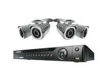 Lorex 8-Ch NVR with 4 Bullet Cameras