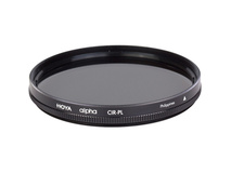 Hoya 67mm alpha Circular Polarizer Filter