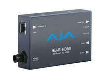 AJA HB-R-HDMI HDBaseT to HDMI Receiver