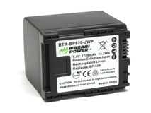 Wasabi Power Battery for Canon BP-820