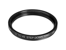 Tiffen 52-49mm Step-Down Ring (Lens to Filter)