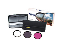 Tiffen 77mm Video Intro (DLX 3 Filter) Kit (UV Protector, ND 0.6, FLD Filters & 4 Pocket Pouch)