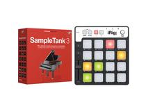 IK Multimedia SampleTank 3 and iRig Keys Pro Controller for Mac and PC