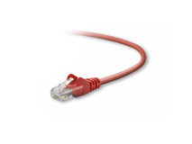 Belkin 50cm Red Cat5E Snagless Patch Cable