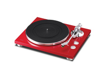 Teac TN-300 Turntable with Phono EQ and USB (Red)