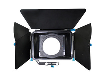 CAME-TV L-M2 Professional DSLR Matte Box for 15mm Rods