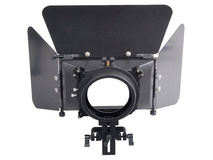 CAME-TV L-M3 DSLR Matte Box with Flag and 15mm Rod Adapter
