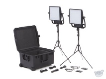 Litepanels Astra 1x1 Bi-Colour LED Traveler Duo Gold Mount Kit