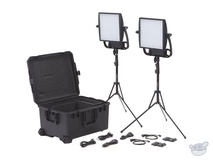 Litepanels Astra 1x1 Bi-Colour LED Traveler Duo V-Mount Kit