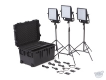 Litepanels Astra 1x1 Bi-Colour LED Traveler Trio Gold Mount Kit