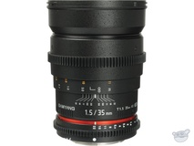 Samyang 35mm T1.5 Cine Lens for Sony E Mount