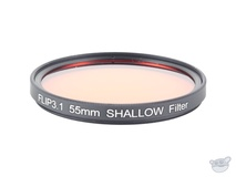 Flip Filters 55mm Threaded Underwater Colour Correction Red Filter for GoPro 3/3+/4 (SHALLOW)