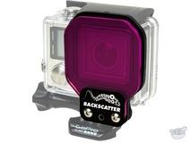 Flip Filters Backscatter FLEX GREENWATER Filter for GoPro Standard Housing
