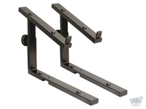 K&M Second-Tier Keyboard Stacker for Omega Table-Style Keyboard Stand (Black)