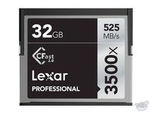 Lexar 32GB Professional 3500x CFast 2.0 Memory Card