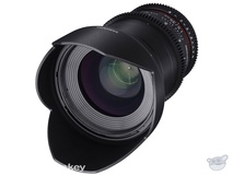 Samyang 35mm T1.5 VDSLRII Cine Lens for Canon EF Mount