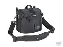 Kata Lite-437 DL Shoulder Bag for a DSLR with Standard Zoom Lens or Handycam (Black)