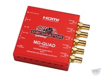 DECIMATOR MD-QUAD v3 3G/HD/SD-SDI Quad Split Multi-Viewer with SD/HD/3G-SDI & HDMI Outputs