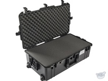 Pelican 1615 Air Wheeled Check-In Case (Black, with Pick-N-Pluck Foam)