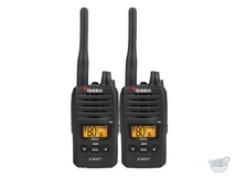 Uniden UH820S-2 80 Channel 2 Watt UHF Handheld Radio (2Pk)