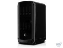G-Technology G-SPEED Studio XL 48TB (6 x 8TB) Eight-Bay Thunderbolt 2 RAID Array, 2 ev Bay Adapters