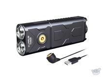Klarus RS30 - 2400 Lumens Dual Head Rechargeable Flashlight