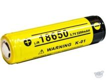 Klarus 18650 BAT-22  Li-Ion Rechargeable Battery (3.7V, 2200mAh)