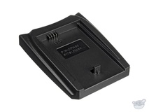 Luminos Dual Battery Charger Adapter Plate for Sony FW-50