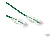 Dynamix 0.25M Cat6 Slimline Component Level UTP Patch Lead (Green)