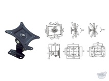 Brateck LCD-302 13-27' Full Motion Bracket