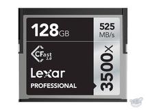 Lexar 128GB Professional 3500x CFast 2.0 Memory Card