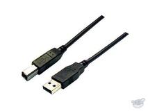 Dynamix 2M USB 2.0 A to B (Black)