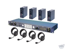 Datavideo ITC-100 Intercom System Combo Product Package for 4 Users