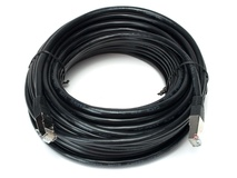 LiveMix CBL-CAT6-200 200-Foot Shielded CAT6 Cable (Black)