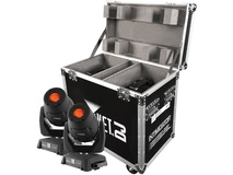 CHAUVET Intimidator Spot 355Z IRC 2-Pack with Flight Case (Black)