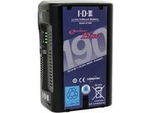 IDX DUO-C190 185Wh Li-Ion V-Mount Battery